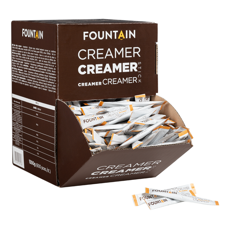 FOUNTAIN CREAMER STICKS - 2,5GR x 600
