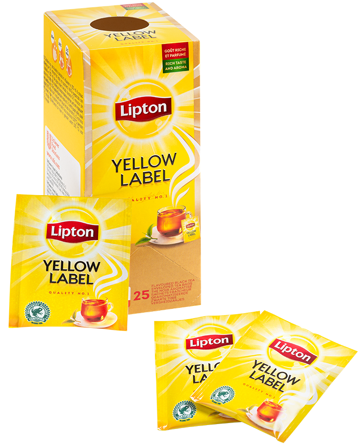 LIPTON EVERYDAY YELLOW LABEL - 25 PCS