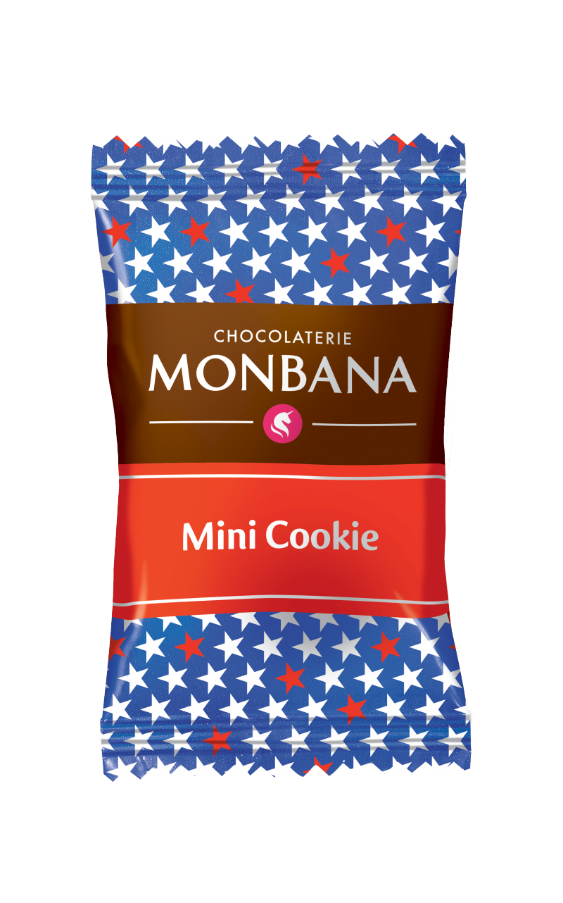 MONBANA MINI-COOKIES - 200 PCS
