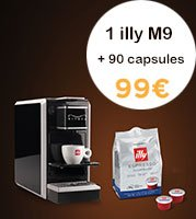 illy Pack | M9 + 90 capsules Lungo MPS