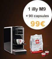 illy Pack | M9 + 90 capsules Medio MPS