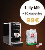 illy Pack | M9 + 90 capsules Deca MPS